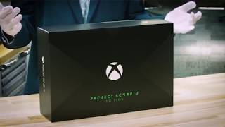 Major Nelson's deleted XboX one X unboxing (skit-sho episode 2)