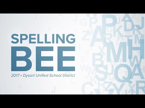 2017 Dysart Unified School District Spelling Bee