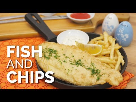 RESEP SEAFOOD: FISH AND CHIPS