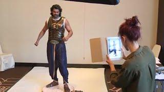 Making of PRABHAS statue at madame tussauds