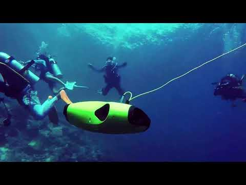 Recap in Indonesia Ocearn-FIFISH P3 Underwater Drone & 4K Camera