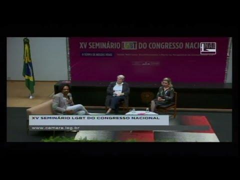 DIREITOS HUMANOS E MINORIAS - XV Seminário LGBT - 06/06/2018 - 13:42