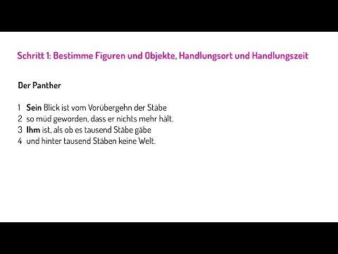 Anleitungsvideo Verfassen Einer Gedichtinterpretation