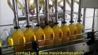 Mesin Filling Minyak Goreng