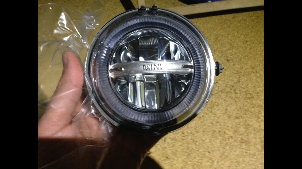 MINI Cooper LED Daytime Running Lights Tagfahrlichter Unboxing ...