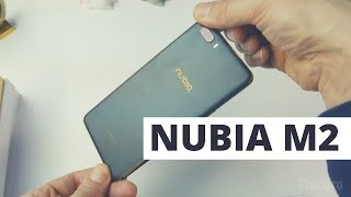 Nubia M2 Global Version Unboxing
