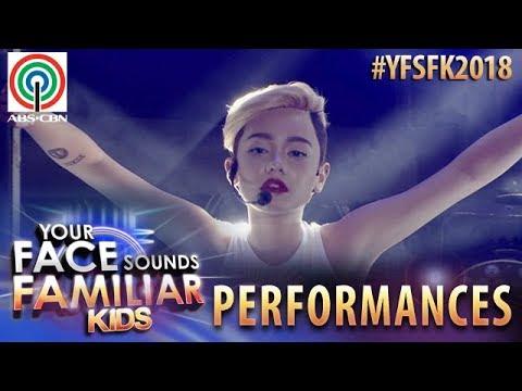 Your Face Sounds Familiar Kids 2018: Krystal Brimner as Miley Cyrus   Wrecking Ball