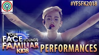 Your Face Sounds Familiar Kids 2018: Krystal Brimner as Miley Cyrus | Wrecking Ball