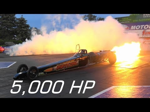 300 MPH 5,000 HP Jet Dragster | MIND BLOWING!