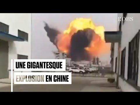 Explosion mortelle d'une usine chimique à Yancheng, en Chine