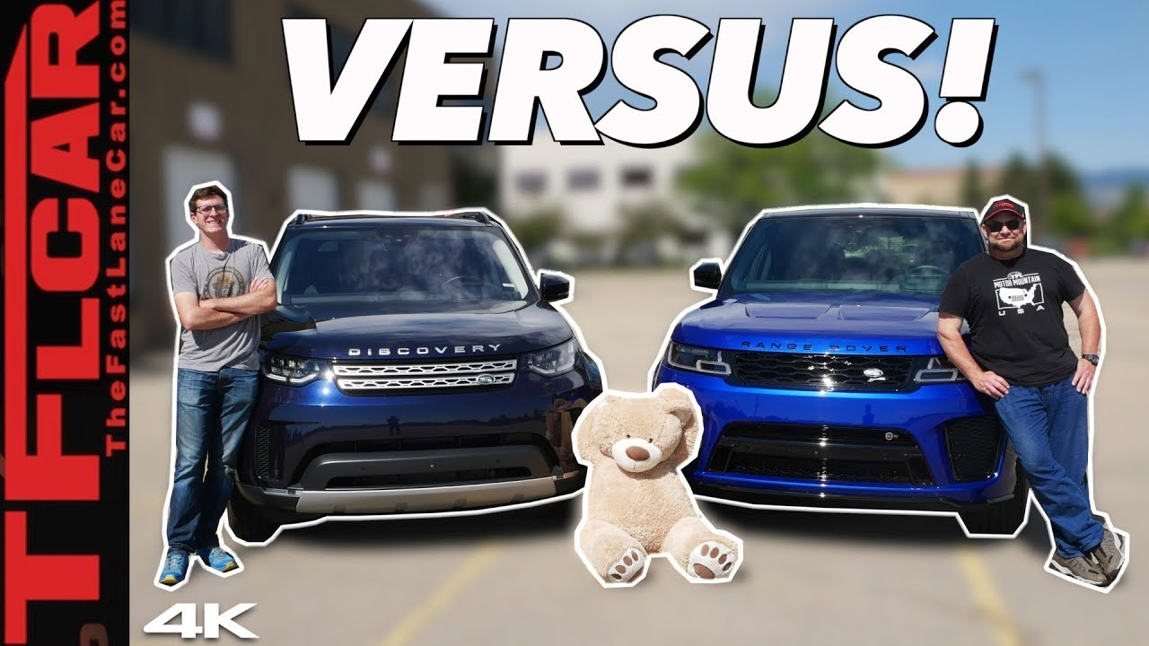 Range Rover Vs Land Rover >> Land Rover Vs Range Rover We Compare The Most Least Dirt Worthy Models