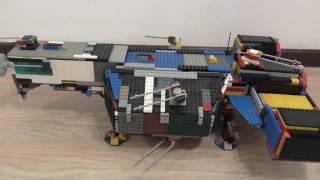 Лего звездные войны самодельный Республиканский Фрегат из Лего