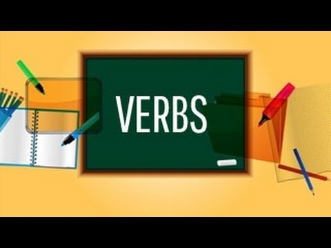 English Verbs and Classification of Verb | English Grammar Class 7
