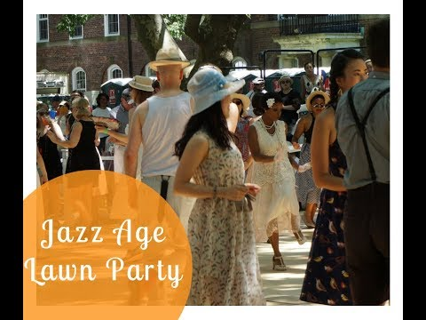 Jazz Age Lawn Party June 2018