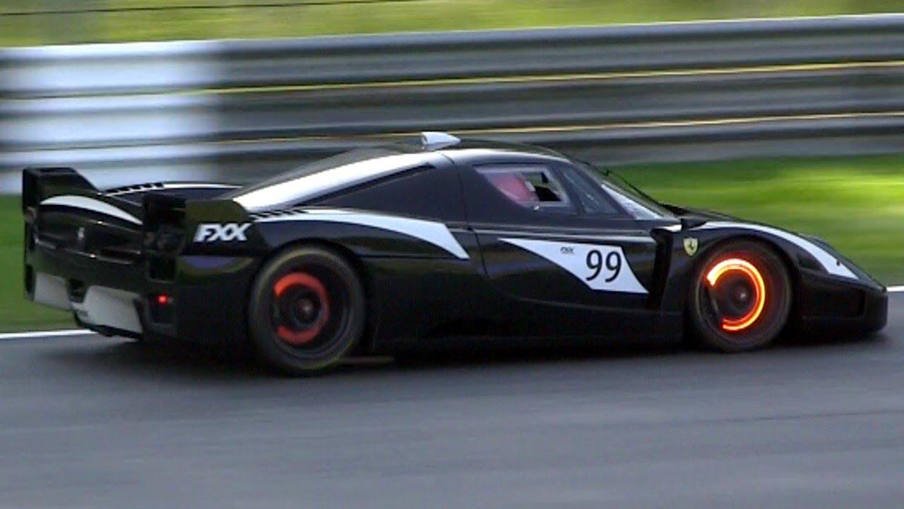 Ferrari Fxx Evoluzione Pure Sound Amp Glowing Brakes Youtube