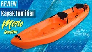 Vídeo: Kayak Merlo Tandem