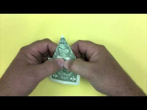 Dollar Bill Elephant Origami