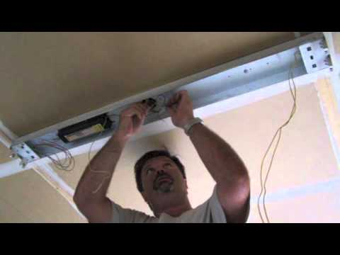 Fluorescent Light Wiring Diagram Uk Dico Thermostat Ballast Removal Leds Youtube