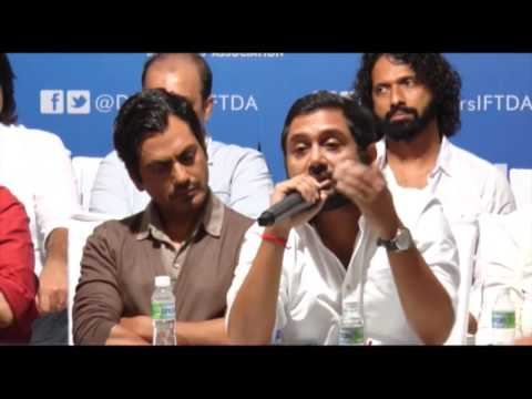 Press Conference Of The Team Of Babumoshai Bandookbaaz Against The Censor Board