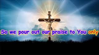 GREAT ARE YOU LORD Karaoke - Praise and Worship Instrumental, with Lyrics, No Vocals