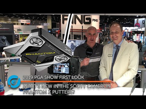 WHAT'S NEW IN THE SCOTTY CAMERON PHANTOM X PUTTERS?