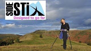 SideStix Forearm Crutches - Designed to go Far!