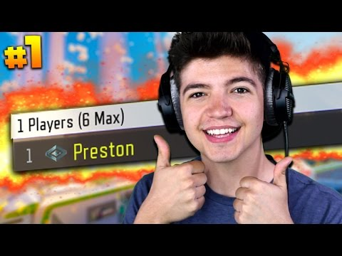 STARTING FROM LEVEL 1... | Preston To Commander #1 (Black Ops 3)