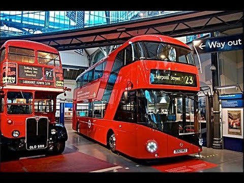 London Transport Museum Indoor Playground for Children Buses, Trains Taxis