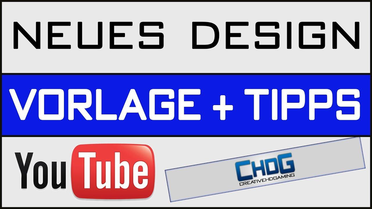 Youtube Design 2013 - Vorlage & selber erstellen - YouTube
