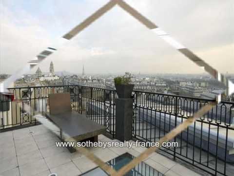 Maisons de charme en France - Penthouse Place Iéna