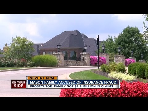 Mason family accused of insurance fraud, money laundering
