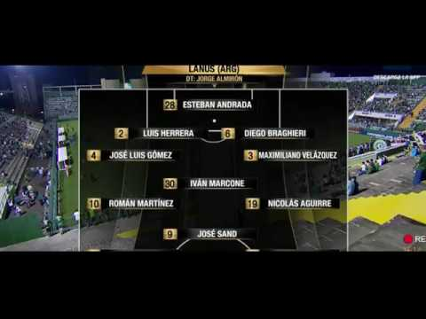 Chapecoense vs Lanús 1-3 Resumen Completo y Goles Copa Libertadores 2017