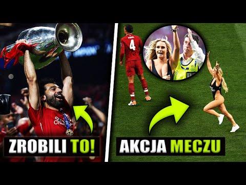 Liverpool WYGRAŁ LIGĘ MISTRZÓW!.. Szalona Blondynka GWIAZDĄ FINAŁU zrobiła akcje meczu..