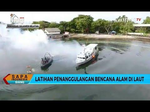 Lantamal Latihan Penanggulangan Bencana Alam Di Laut