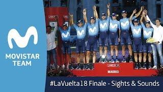 #LaVuelta18 in Madrid: Sights and Sounds
