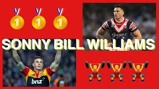 RUGBY TRIBUTE REACTION | SONNY BILL WILLIAMS