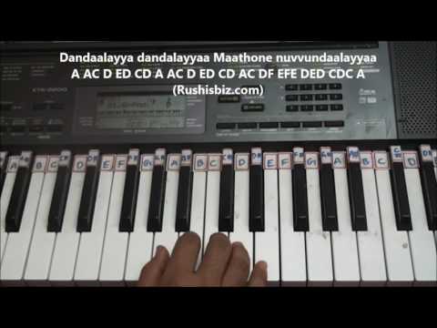 Dandalayaa Song (Baahubali -2) Piano Tutorials - (Telugu) | DOWNLOAD NOTES FROM DESCRIPTION