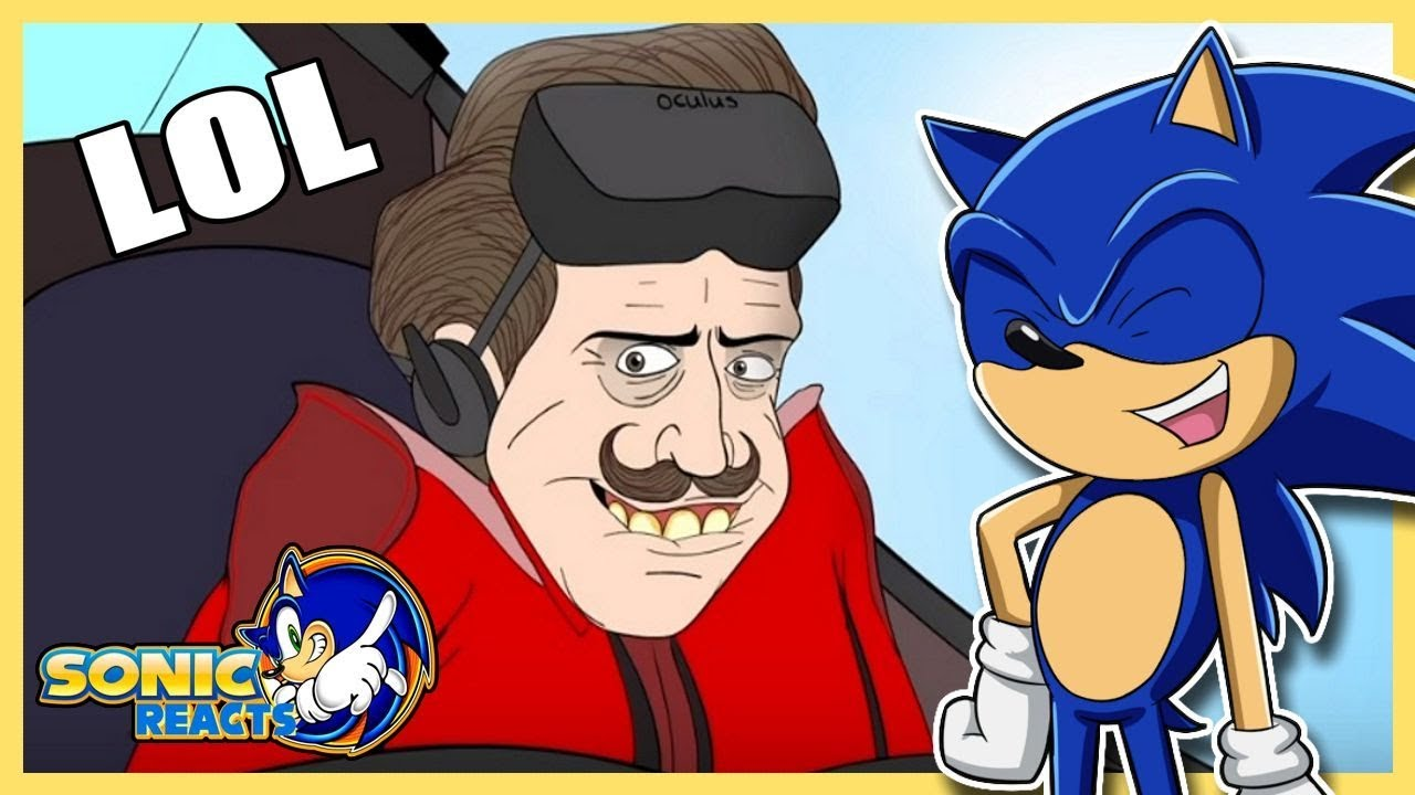 Dat Face Tho Sonic Reacts Basically The Sonic The Hedgehog Movie Sonic Movie Animation Youtube