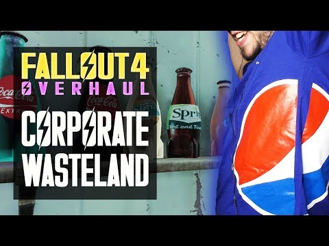 Coca-Cola, Pepsi, McDonalds in Fallout 4 - Corporate Wasteland Overhaul - Fallout 4 Mods