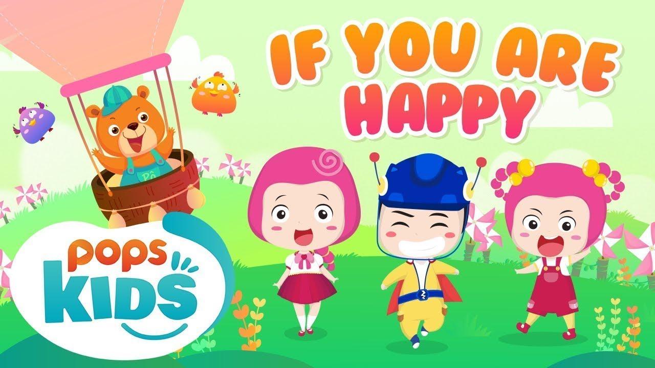 [New] If You Are Happy - Nhạc Thiếu Nhi Vui Nhộn | Mầm Chồi Lá Tiếng Anh Tập 7 | English Kids Song