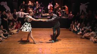 Download Video Swing Train Festival 2016 | Kevin & Jo - impro on Hot Sugar band MP3 3GP MP4