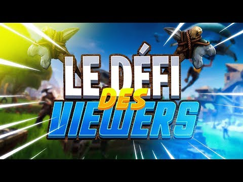 LE DÉFI DES VIEWERS #1 {Fortnite Battle Royale FR}