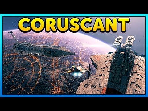 BATTLE Of CORUSCANT Cinematic - Star Wars Battlefront 2 Mod thumbnail