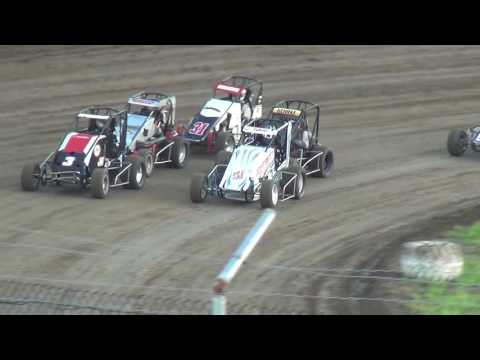IMRA Midget Heats 34 Raceway 7/23/16