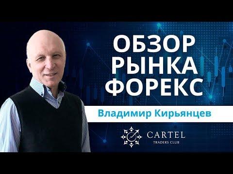 ???? Обзор рынка форекс с Владимиром Кирьянцевым. Прогноз рынка на 12/12