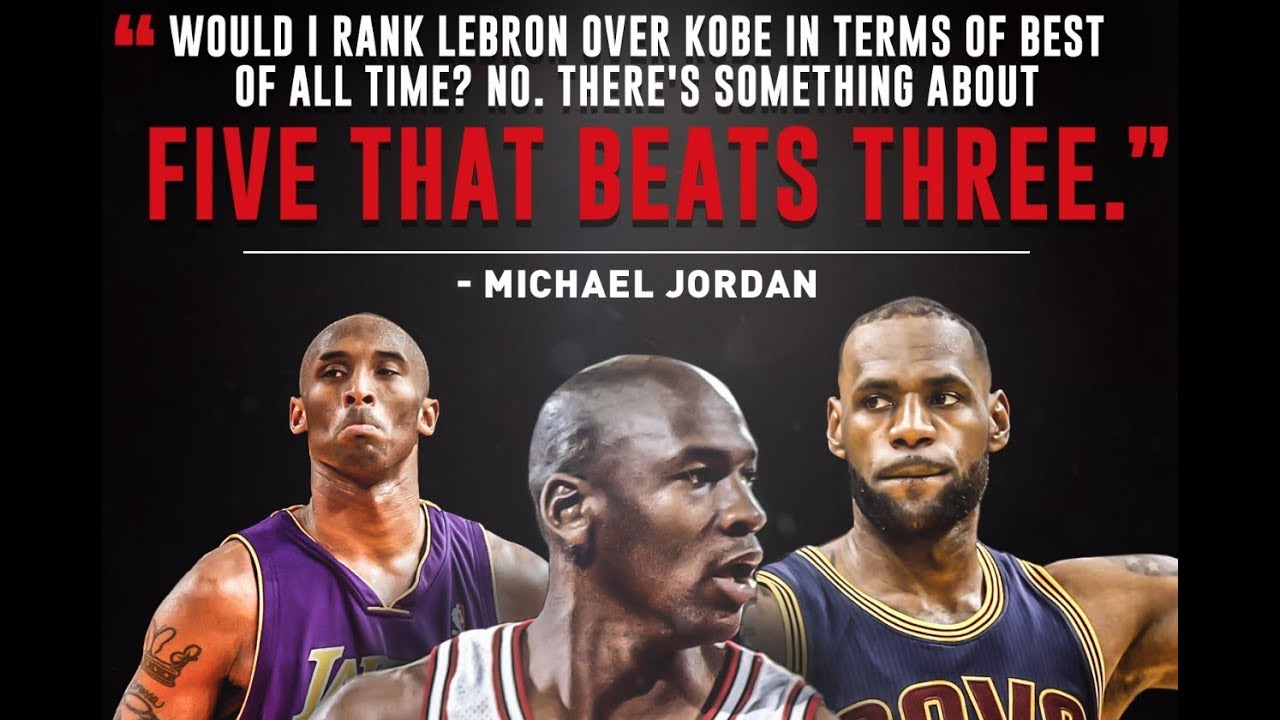 abbe348a6106 Michael Jordan Says Kobe Bryant is Better Than Lebron James! Is He Right?