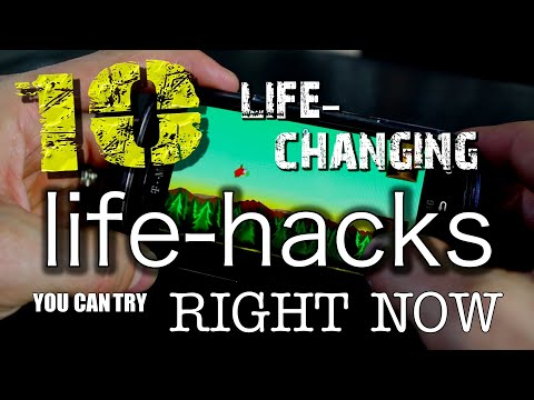 10 Amazing & Life-Changing Life Hacks!