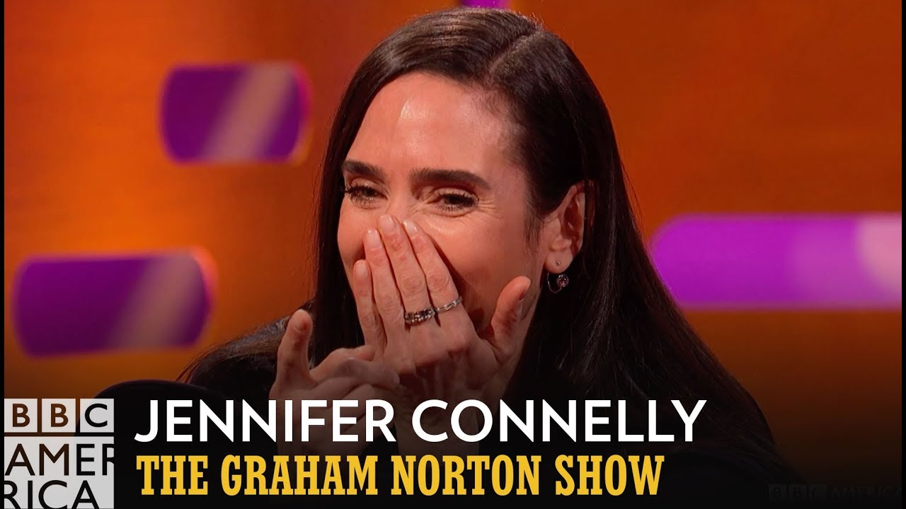 Jennifer Connelly had a #1 Hit in Japan! | The Graham Norton Show | Fridays  at 11/10c on BBC America - YouTube