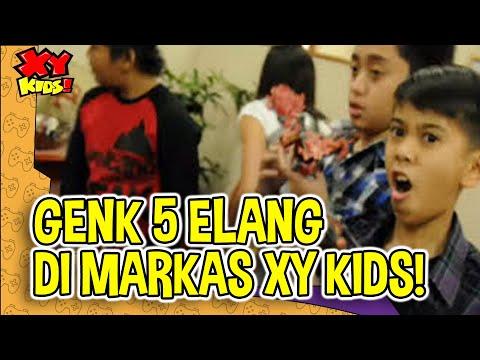 Genk 5 ELANG Mampir ke Markas XY-Kids!
