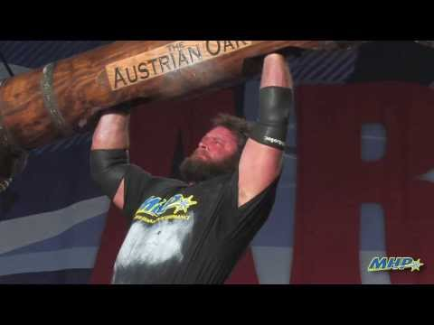 2014 Arnold Strongman Highlights - The Austrian Oak